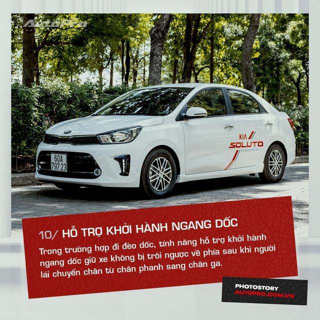 10 tính năng nổi bật trên Kia Soluto AT Luxury được khách hàng đánh giá cao - Ảnh 10.