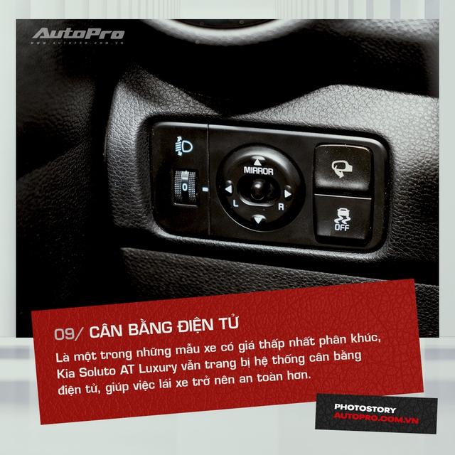 10 tính năng nổi bật trên Kia Soluto AT Luxury được khách hàng đánh giá cao - Ảnh 9.