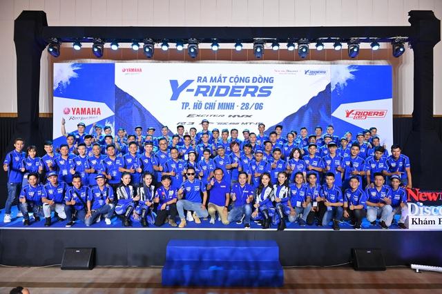 Yamaha vừa ra mắt Y-Riders Club đã có hơn 5.000 thành viên và 300 câu lạc bộ chính thức - Ảnh 1.