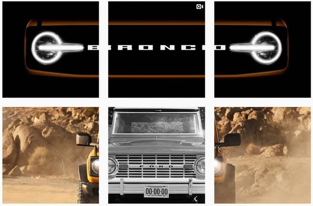 Ford Bronco lại lộ thêm chi tiết hot hầm hố hơn Mercedes-Benz G-Class - Ảnh 1.