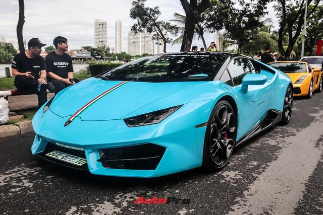 Dàn siêu xe đủ sắc màu hội ngộ tại Sài Gòn, có những chiếc với lai lịch đặc biệt - Ảnh 9.
