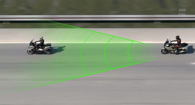 BMW đưa hệ thống kiểm soát hành trình lên xe máy  - Ảnh 3.