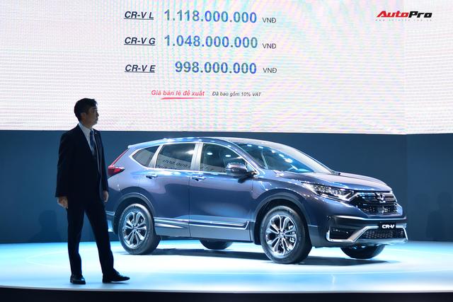 Honda CR-V 2020 lắp ráp giá từ 998 triệu đồng: Tiêu chuẩn hoá công nghệ an toàn khủng đấu Mazda CX-5 - Ảnh 10.