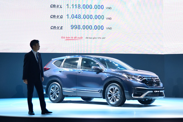 Chênh 120 triệu đồng, đâu là phiên bản Honda CR-V 2020 đáng mua nhất? - Ảnh 1.