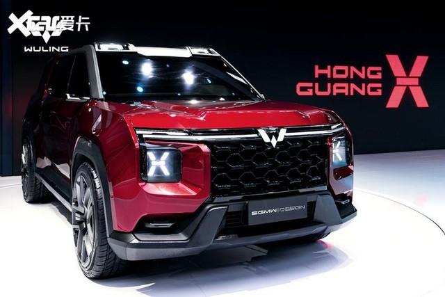 Cận cảnh 'Ford Bronco' của người Trung Quốc: Hiện đại, hầm hố hơn hàng thật - Ảnh 2.