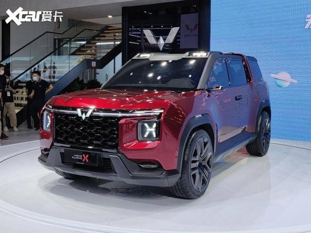 Cận cảnh 'Ford Bronco' của người Trung Quốc: Hiện đại, hầm hố hơn hàng thật - Ảnh 1.