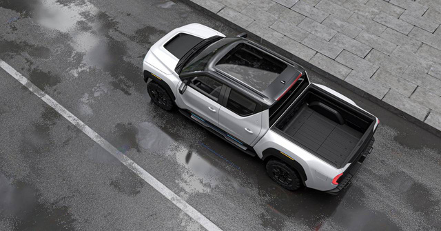 Không nổi tiếng bằng Tesla Cybertruck, nhưng đây mới là bán tải điện đáng chờ đợi nhất - Ảnh 3.