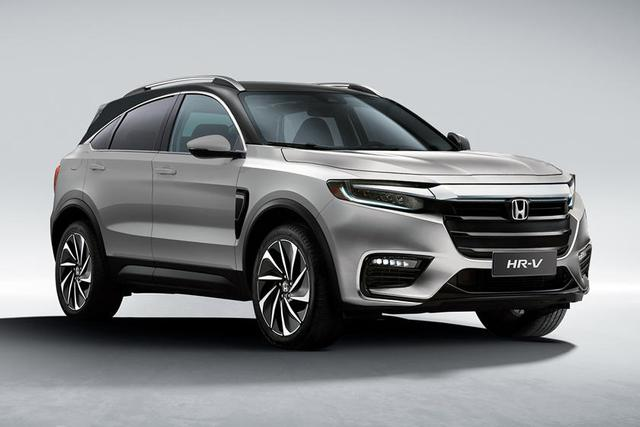 Đây có thể là Honda HR-V mới - Hyundai Kona cần dè chừng - Ảnh 1.