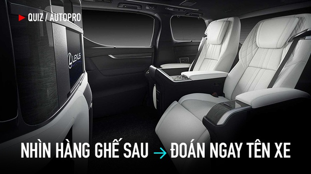 Hàng ghế sau - Đặc trưng của mỗi hãng xe nhưng bạn nhớ được tới đâu?