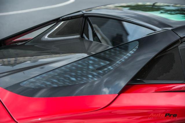 McLaren 720S Spider màu đỏ độc nhất Việt Nam đến nay mới ra biển số: Dãy số gánh và lộc phát gây chú ý - Ảnh 6.