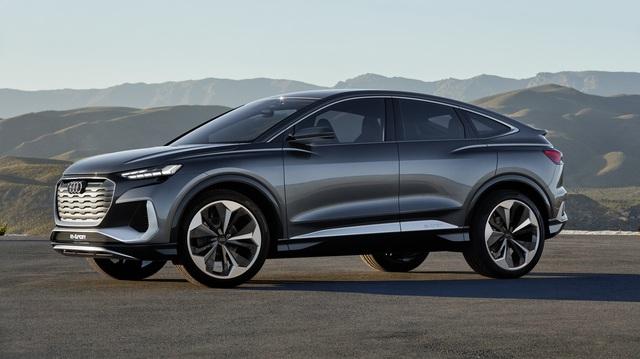 Ra mắt Audi Q4 Sportback E-Tron Concept - Xem trước SUV coupe chủ lực tương lai