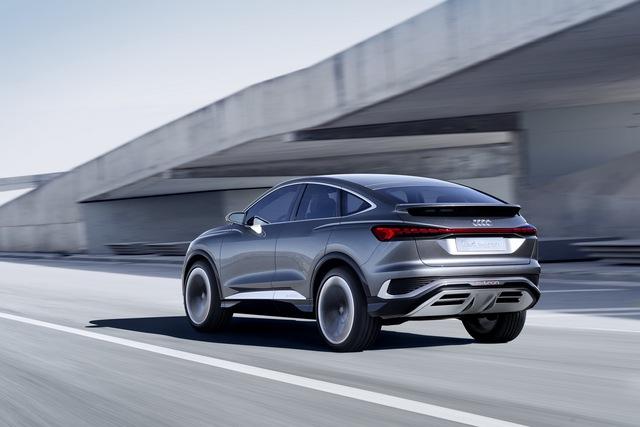 Audi Q4 Sportback E-Tron Concept: SUV coupe thuần điện giá rẻ hứa hẹn khuynh đảo thị trường - Ảnh 6.