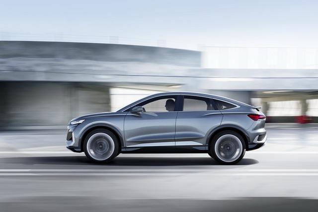 Audi Q4 Sportback E-Tron Concept: SUV coupe thuần điện giá rẻ hứa hẹn khuynh đảo thị trường - Ảnh 3.