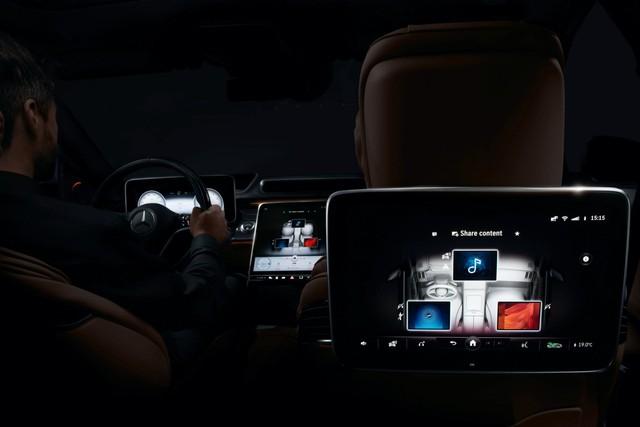 Mercedes-Benz S-Class mới sắp làm nhiều đại gia Việt mở hầu bao với dàn 5 màn hình khủng trong nội thất - Ảnh 1.