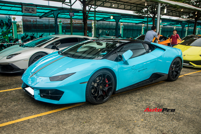 Lý lịch ấn tượng từ Bắc vào Nam của Lamborghini Huracan LP580-2 chính hãng vừa tái xuất khi tụ họp với dàn xe khủng ở Vũng Tàu - Ảnh 6.