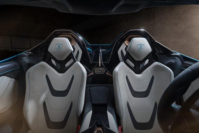 Nếu còn xe, đại gia Hoàng Kim Khánh có thể ký tên lên Lamborghini Sián Roadster mà không cần tự làm như với Aventador S - Ảnh 4.