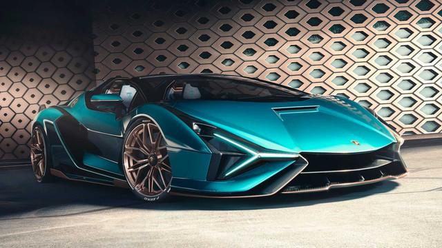 Lamborghini Sián Roadster trình làng: Chỉ có 19 chiếc được sản xuất, giá bán dự kiến gần 4 triệu USD - Ảnh 5.