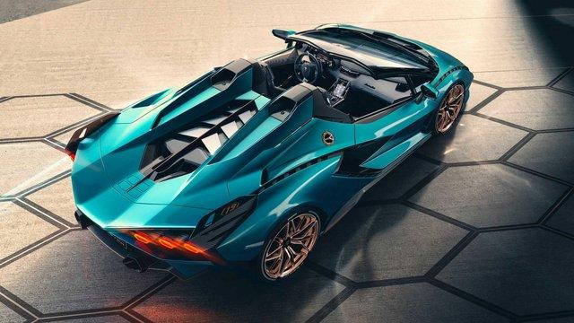 Lamborghini Sián Roadster trình làng: Chỉ có 19 chiếc được sản xuất, giá bán dự kiến gần 4 triệu USD - Ảnh 3.