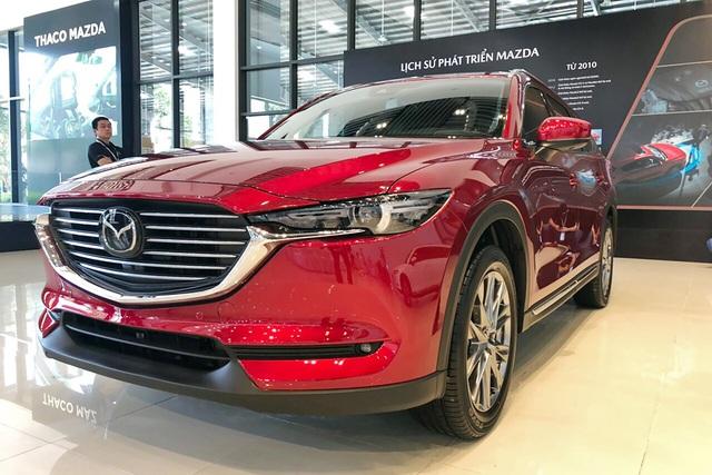 Kia, Mazda đồng loạt giảm giá nhiều xe hot tại Việt Nam: Cerato, CX-8 rẻ nhất phân khúc, Sorento ưu đãi mạnh cạnh tranh Santa Fe - Ảnh 4.