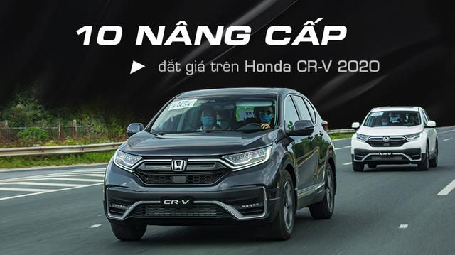 10 điểm sáng trên Honda CR-V 2020 để giữ ngôi vua doanh số phân khúc