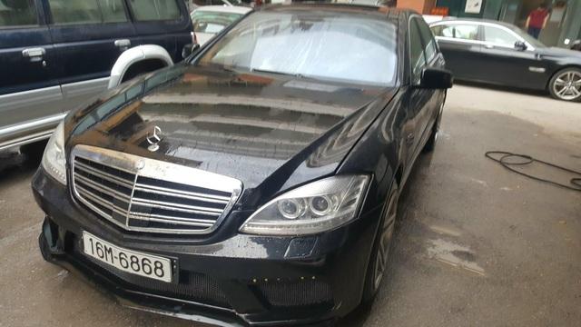 Mercedes-Benz S63 AMG 12 tuổi bán lại hơn 1,1 tỷ đồng, mức 'uống' xăng được đặc biệt quan tâm - Ảnh 1.