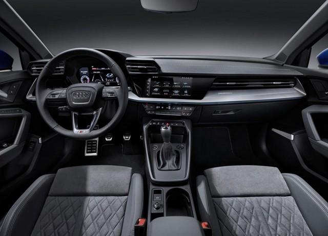 Lần đầu lộ diện Audi A3L - Đối thủ BMW 1-Series được kéo dài để phục vụ đại gia thích ngồi sau - Ảnh 4.