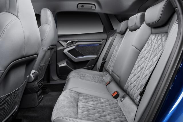 Lần đầu lộ diện Audi A3L - Đối thủ BMW 1-Series được kéo dài để phục vụ đại gia thích ngồi sau - Ảnh 5.