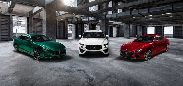 Maserati bổ sung đội hình Trofeo mạnh mẽ nhất bằng Ghibli, Quattroporte mới - Ảnh 2.