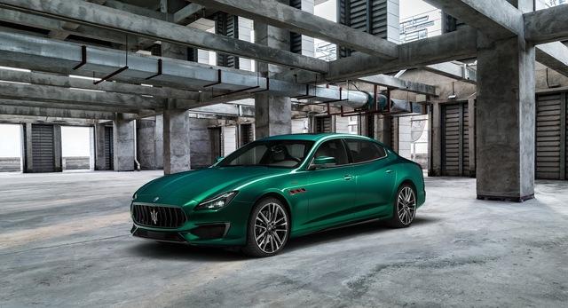 Maserati bổ sung đội hình Trofeo mạnh mẽ nhất bằng Ghibli, Quattroporte mới - Ảnh 3.