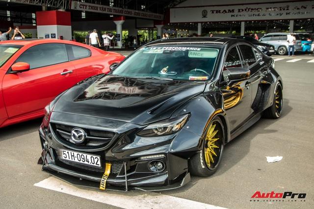 Tay chơi 9x Sài Gòn chi hàng trăm triệu 'lột xác' Mazda6 hầm hố như siêu xe