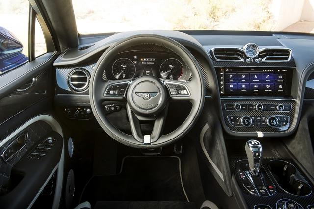 Siêu SUV nhanh nhất thế giới Bentley Bentayga Speed nâng cấp với những đỉnh cao mới cho giới nhà giàu - Ảnh 5.
