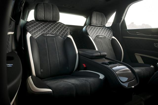 Siêu SUV nhanh nhất thế giới Bentley Bentayga Speed nâng cấp với những đỉnh cao mới cho giới nhà giàu - Ảnh 7.