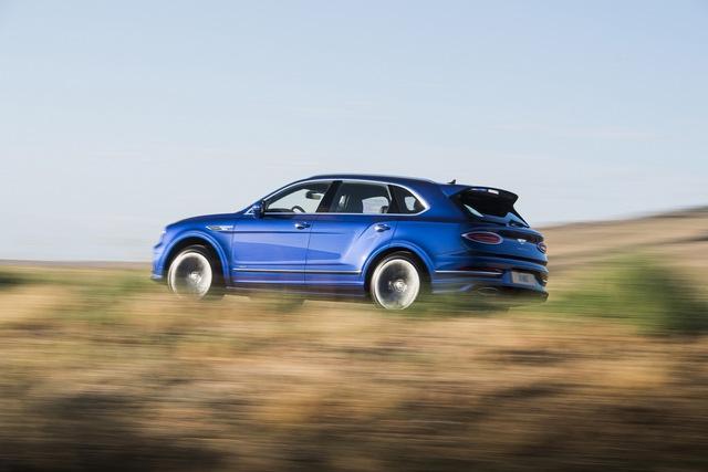 Siêu SUV nhanh nhất thế giới Bentley Bentayga Speed nâng cấp với những đỉnh cao mới cho giới nhà giàu - Ảnh 1.