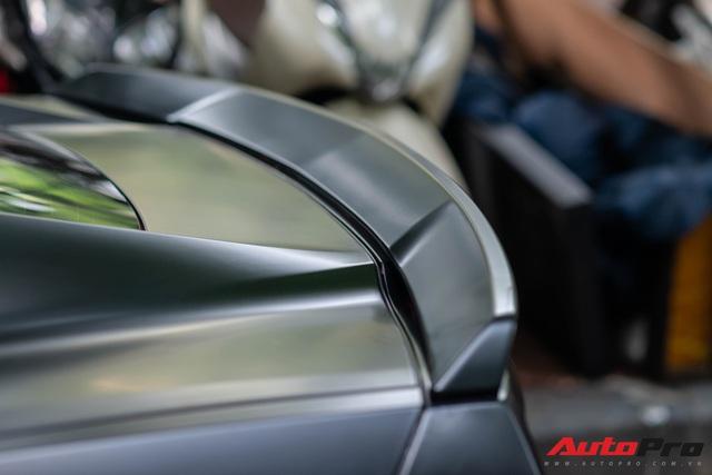 Chevrolet Corvette C7 của dân chơi Hà thành độ cửa cắt kéo giá gần 100 triệu đồng như siêu xe Lamborghini - Ảnh 8.