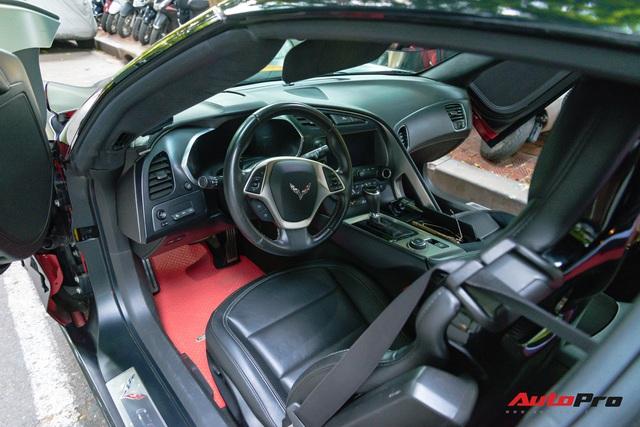 Chevrolet Corvette C7 của dân chơi Hà thành độ cửa cắt kéo giá gần 100 triệu đồng như siêu xe Lamborghini - Ảnh 9.