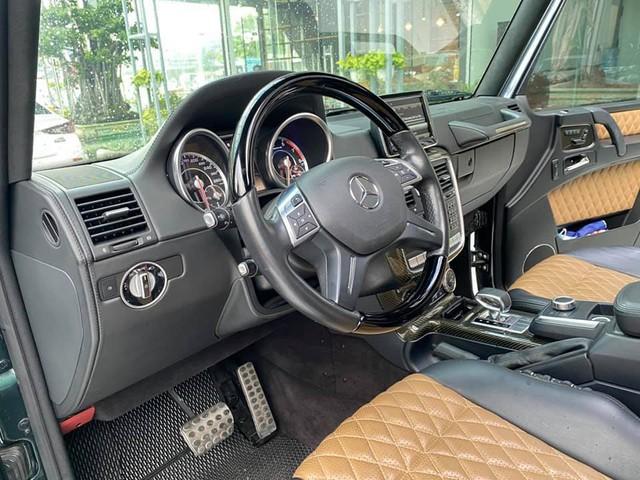 Hàng hiếm Mercedes-Benz G 63 AMG màu dị hạ giá rẻ hơn Lexus LX 570 cả tỷ đồng dù chỉ chạy 4.800km mỗi năm - Ảnh 4.