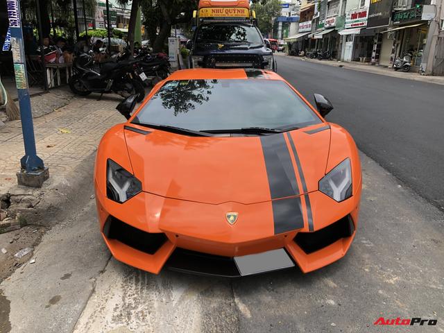 Cận cảnh Lamborghini Aventador LP700-4 độ hệ thống ống xả ngàn đô tại Sài Gòn - Ảnh 2.