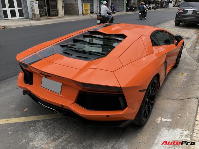Cận cảnh Lamborghini Aventador LP700-4 độ hệ thống ống xả ngàn đô tại Sài Gòn - Ảnh 7.