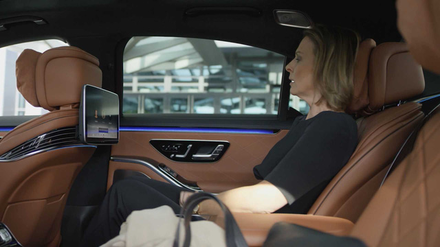 Trọn vẹn nội thất Mercedes-Benz S-Class đời mới qua bộ ảnh mãn nhãn: Ai cũng phải xuýt xoa - Ảnh 6.