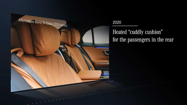 Trọn vẹn nội thất Mercedes-Benz S-Class đời mới qua bộ ảnh mãn nhãn: Ai cũng phải xuýt xoa - Ảnh 12.