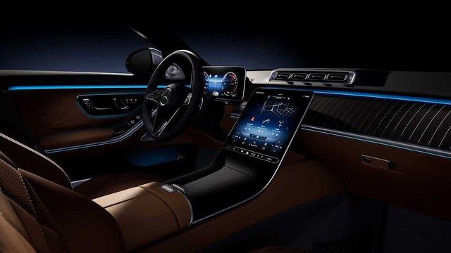Trọn vẹn nội thất Mercedes-Benz S-Class đời mới qua bộ ảnh mãn nhãn: Ai cũng phải xuýt xoa - Ảnh 13.
