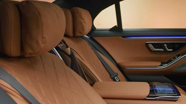 Trọn vẹn nội thất Mercedes-Benz S-Class đời mới qua bộ ảnh mãn nhãn: Ai cũng phải xuýt xoa - Ảnh 18.