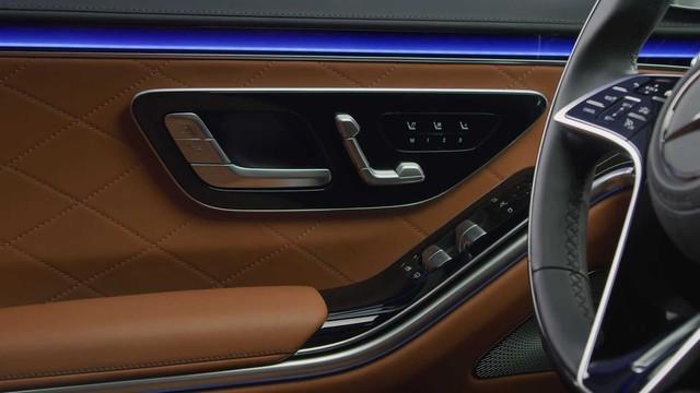 Trọn vẹn nội thất Mercedes-Benz S-Class đời mới qua bộ ảnh mãn nhãn: Ai cũng phải xuýt xoa - Ảnh 21.