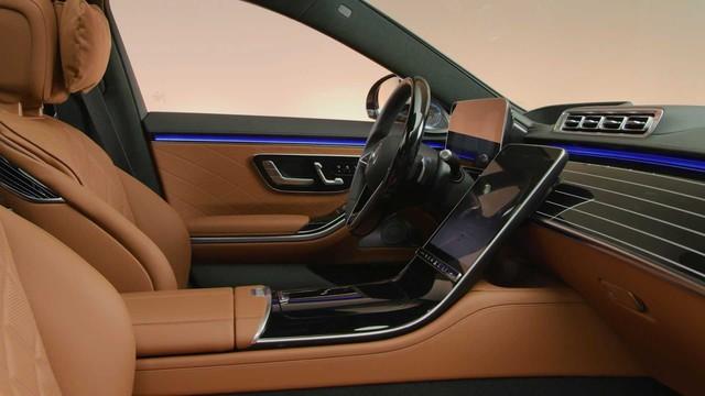 Trọn vẹn nội thất Mercedes-Benz S-Class đời mới qua bộ ảnh mãn nhãn: Ai cũng phải xuýt xoa - Ảnh 25.