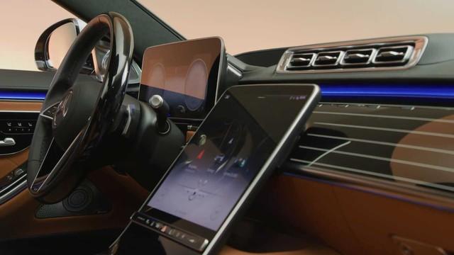 Trọn vẹn nội thất Mercedes-Benz S-Class đời mới qua bộ ảnh mãn nhãn: Ai cũng phải xuýt xoa - Ảnh 26.