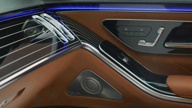 Trọn vẹn nội thất Mercedes-Benz S-Class đời mới qua bộ ảnh mãn nhãn: Ai cũng phải xuýt xoa - Ảnh 29.