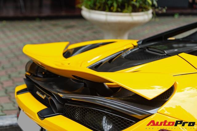 McLaren 720S Spider màu vàng đầu tiên về nước bất ngờ xuất hiện tại Hà Nội sau một thời gian dài lăn bánh tại Sài Gòn - Ảnh 8.