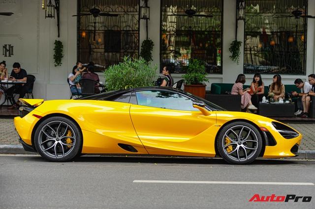 Thánh địa siêu xe Hà Thành tấp nập trở lại với loạt siêu xe, xe sang có giá trị cả trăm tỷ đồng - Ảnh 3.