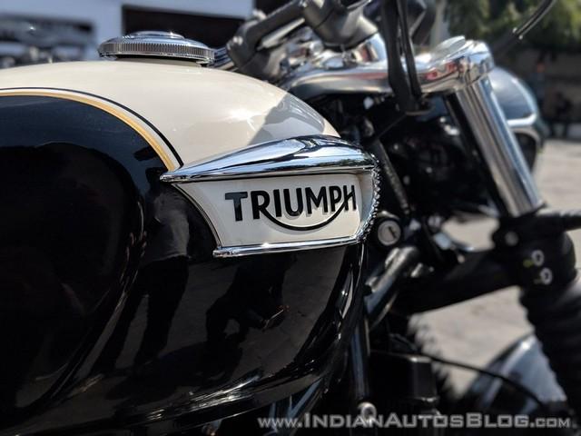 Triumph Bonneville Speedmaster đạt chuẩn BS6 vừa ra mắt - Ảnh 8.