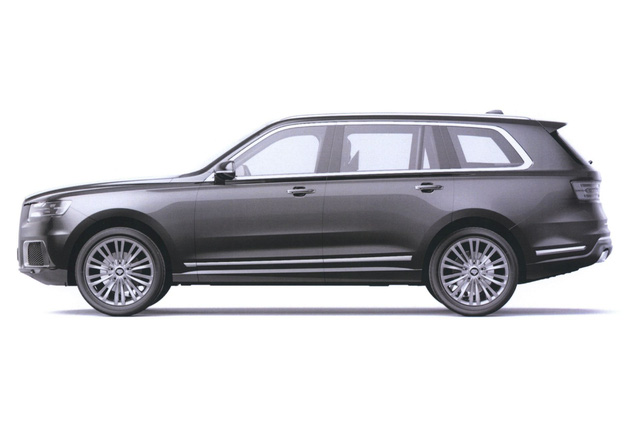 Lộ diện SUV siêu sang mới với thiết kế y đúc Rolls-Royce - Ảnh 3.